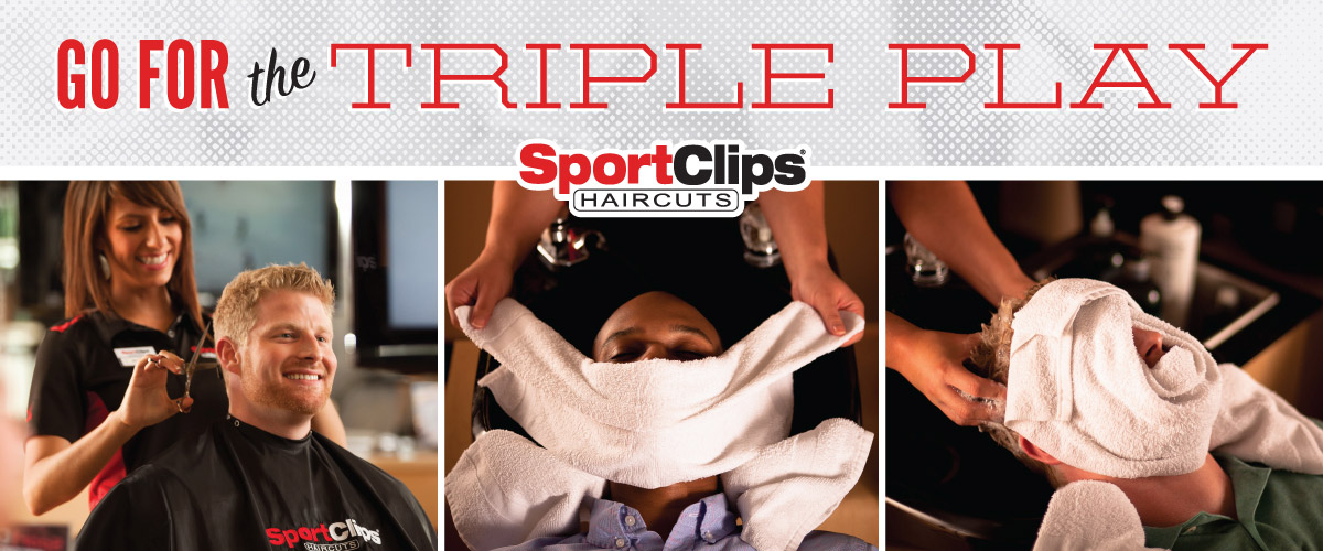 The Sport Clips Haircuts of Pebblewood Plaza - Omaha  Triple Play
